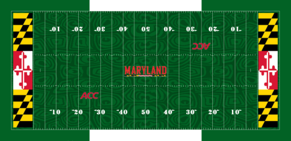 Maryland Terrapins football field