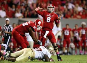 QB Mike Glennon Leads NC State Versus Vanderbilt & One of Country's Best Pass Defenses