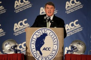 John Swofford ACC Conference Realignment Expansion Jim Delaney Big Ten Football Florida State Statement Solidarity