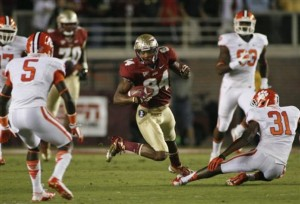 Clemson Florida State 2012 Football Seminoles Tigers ACC Television Ratings Schedule Revenue