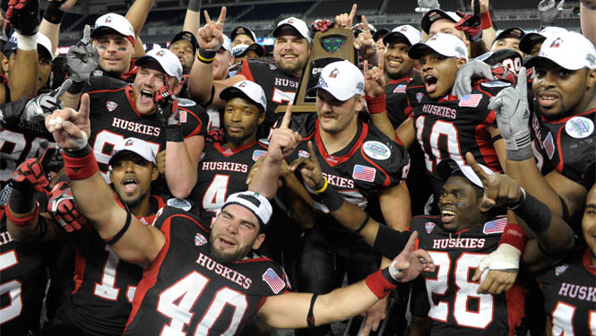After a Big Overtime Win in the MAC Title Game, NIU's Headed to the BCS