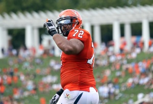 Oday Aboushi Was a Force on Virginia's O-Line This Year, and Now He's Headed to the Pros