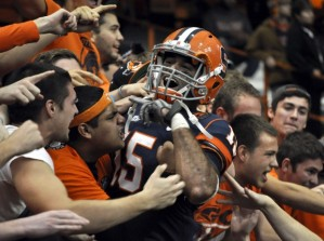 Alec Lemon Ended His Career at Syracuse as the Orange's All-Time Leading Receiver