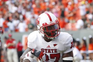 NC State's David Amerson Quietly Led NC State's Secondary Through a Rough Season