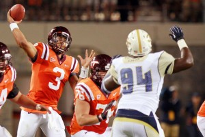 Logan Thomas Virginia Tech Hokies NFL Draft Frank Beamer Coastal Division 2013