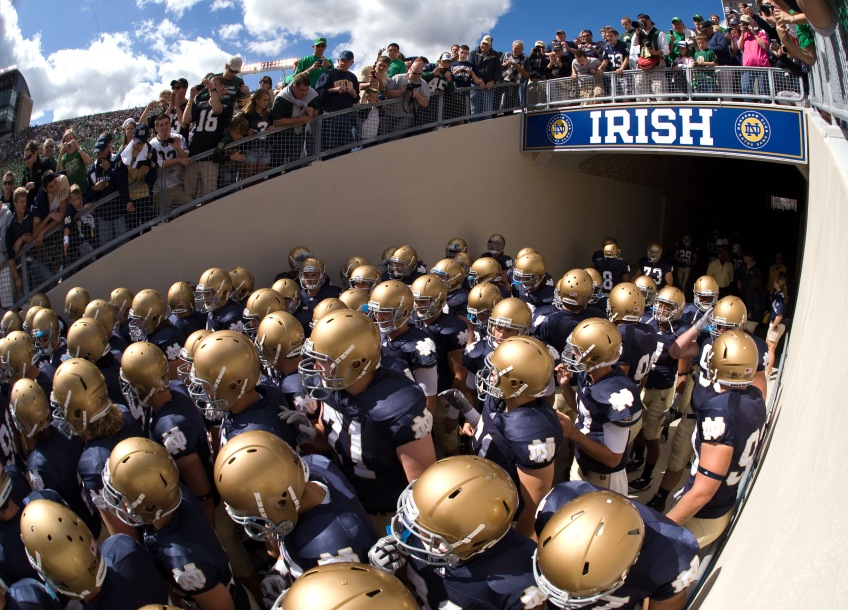 Notre Dame Football Fighting irish BCS Playoffs ACC Orange Bowl National Championship Game Expansion