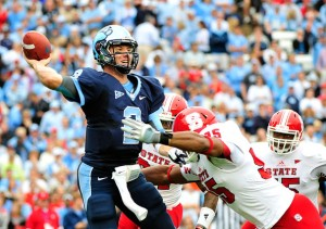 North Carolina QB Bryn Renner Has Thrived in Larry Fedora's Spread Offense So Far