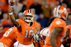 Tajh Boyd Clemson Chick fil a Bowl Tigers ACC Football National Championship NFL Draft
