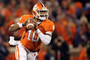 Clemson Tigers Tajh Boyd Heisman Trophy Winner ACC Football 2013 Preview Chick-fil-a