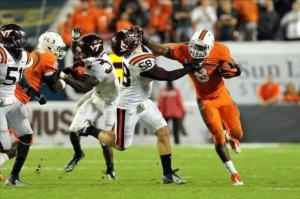 Miami's Duke Johnson Put in a Standout Freshman Performance in 2012