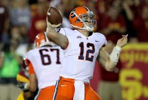 Syracuse's Ryan Nassib Left His Place in the Record Books During a Sterling Four-Year Career