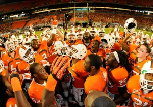 Miami Hurricanes Football 2012 Sanctions Violations Al Golden Mark Emmert NCAA Bowl Ban