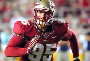 FSU Defensive End Bjoern Werner Thrived in the Limelight This Season, and Now Heads to the NFL