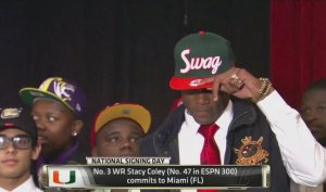 Committing to the U in Style, WR Stacy Coley Looks to Bring Some Swag Back to Miami