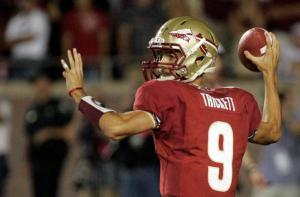Florida State Seminoles ACC Football Spring Practice Game Clint Trickett Jameis Winston