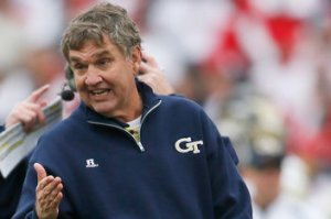 Georgia Tech's Paul Johnson is One of Several ACC Coaches on Tentative Ground Right Now