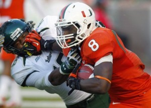Duke Johnson is One of 20 Starters Returning From Last Year's Hurricanes Team