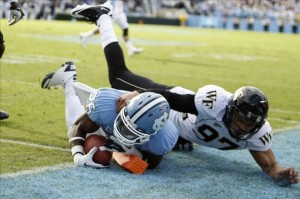 North Carolina and Wake Forest Played a Thriller in 2012; And Will Face Off Again This Fall