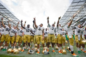Notre Dame Conference Realignment Expansion Fighting Irish ACC Big East Catholic 7