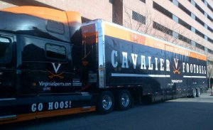 Tom O'Brien Truck Virginai Troll UVA Cavaliers Associate Head Coach NC State Boston College