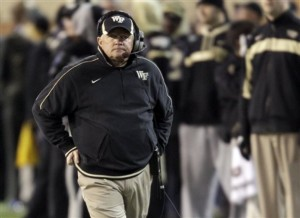 is Jim Grobe on the Hot Seat in 2013? This Spring May Help Decide His Fate