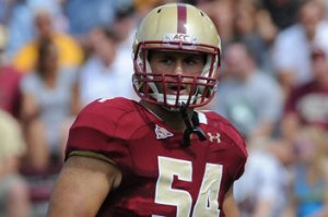 Boston College Linebacker Nick Clancy is One of Four Eagles Looking to Be Drafted