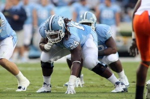Jonathan Cooper is One of Several Former Tar Heels Climbing Draft Boards