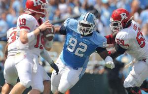Sylvester Williams is the Second Tar Heel Drafted in the First Round Tonight