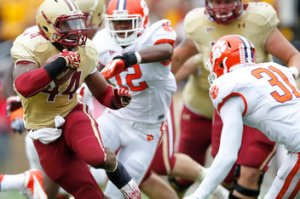 Boston COllege Football Recruiting Trail Pros Cons Pitches Selling Point ACC Conference