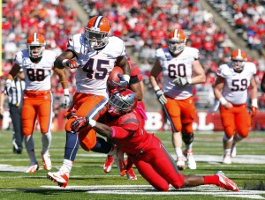 Jerome Smith Had a Breakout 2012 Campaign for SU; Can He Improve Upon it in 2013?