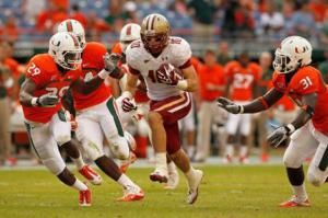 Miami Boston College Hurricanes Eagles ACC Football Rivalries Gone Cross-Divisional