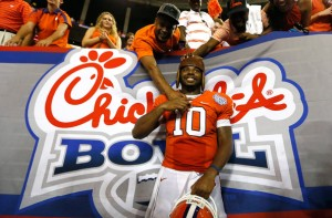 For Clemson's Tajh Boyd, the Goal is Now Winning a Title for the Tigers