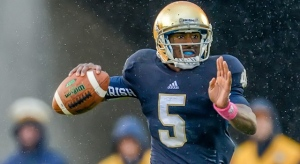 Without Everett Golson Under Center, the Irish Suddenly Look Shaky on Offense