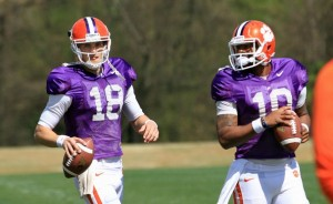 Clemson, Led by Tajh Boyd and Cole Stoudt, Have the ACC's Top Quarterback Unit for 2013