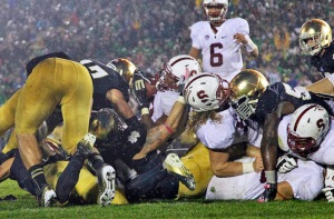Notre Dame Stanford 2012 Football ACC Non-Conference Scheduling Weekends Set Locked TV Inventory