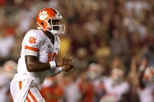 Tajh Boyd Clemson Quarterback ACC Expereience Football Youth Passing Yardage