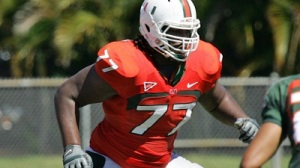 Seantrel Henderson is One of Several Standout O-Linemen for Miami's Top-Ranked Unit