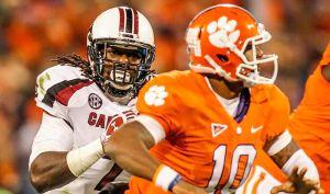 Jadeveon Clowney Clemson Tajh Boy South Carolina Dabo Swinney Not Scared SEC Media