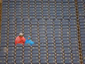 Empty Football Stadium Death of College Football Universities NCAA O'Bannon