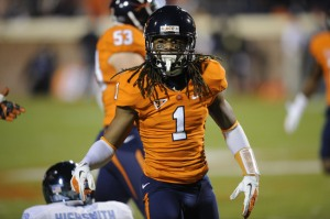 Virginia's Demetrious Nicholson is #44 on Our Countdown of the ACC's Top 50 Players for 2013