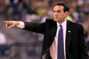 Coach K Duke Blue Devils Notre Dame Conference Expansion Realignment Fighting Irish