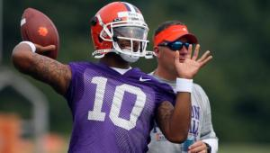 Clemson Quarterback Tajh Boyd is One of 28 Players Attending the ACC Football Kickoff