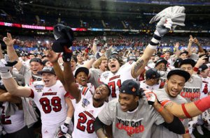 Louisville Cardinals ESPN NY Times Football ACC Realignment Sugar Bowl Success Financial