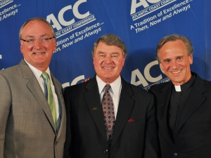 Notre Dame John Swofford ACC Football Fighting Irish Jack Swarbrick