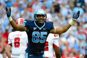 North Carolina's Eric Ebron is #14 in Our Countdown of the ACC's Top 50 Players for 2013