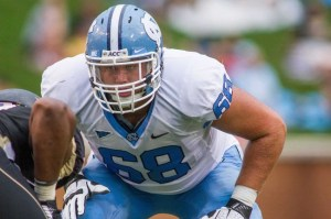 North Carolina's James Hurst is #11 in Our Countdown of the ACC's Top 50 Players for 2013
