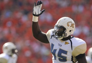 Georgia Tech's Jeremiah Attaochu is #20 in Our Countdown of the ACC's Top 50 Players for 2013