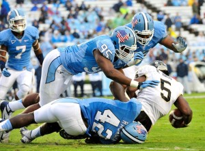 North Carolina's Kareem Martin is #23 in Our Countdown of the ACC's Top 50 Players for 2013