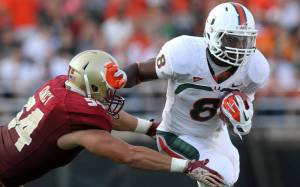 Sophomore Duke Johnson Headlines a Powerful Miami Offense for 2013