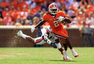Down a Few Defensive Backs, Can Georgia Keep Clemson's Sammy Watkins in Check?